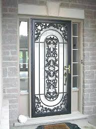 decorative security screen doors. Decorative Storm Doors Stunning Metal Security Screen