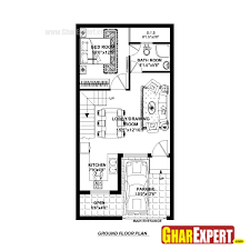 house plan for 20 feet by 40 plot size 89 square yards in plans