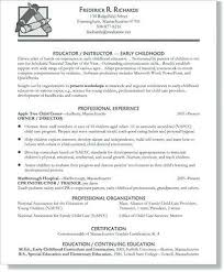 Early Childhood Consultant Sample Resume Awesome Early Childhood Consultant Sample Resume Colbroco