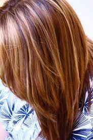Caramel Haarfarbe Karamell Straehnchen Natuerlich Mittellang Hell