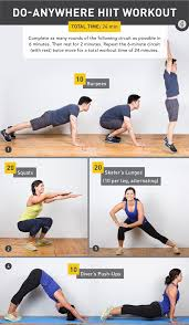 do anywhere hiit workout