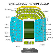 Dkr Texas Memorial Stadium Seating Chart Darrell K Royal Texas Memorial Stadium 2019 Seating Chart