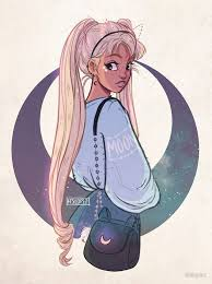 Moon by itslopez | Art, Character drawing, Art inspiration