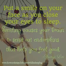 Smile Before You Sleep Inspiring Self Improvement Quotes