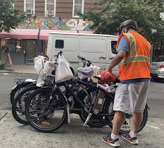 Bicycle Red Light Ticket Nyc Delivery Workers Struggle With Citys Rules For Electric Bikes