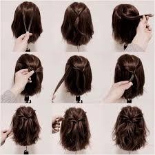 Image Coiffure Simple à Faire Soi Même Cheveux Mi Long Coupe