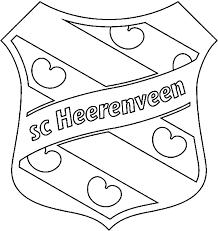 Kleurplaat Voetbal Logo S Kids N Fun Kleurplaat Voetbalclubs