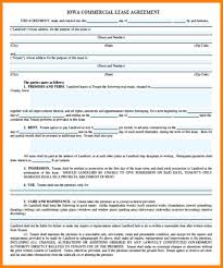 Simple Commercial Lease Agreement 24 Commercial Lease Agreement Template Word Farmer Resume 17