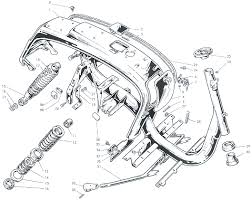 parts diagrams for the worlds finest scooter parts diagram for lambretta series iii frame