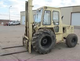 Ingersol Rand Forklift Ingersoll Rand Rt 708 Rough Terrain Forklift Item F5634
