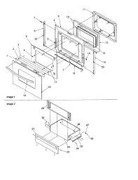 Amana artc7511ww electric range timer stove clocks and appliance artc7511ww electric range oven door and storage drawer parts diagram refrigerator wiring