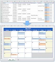 Make Calendar In Excel Create Calendars With Photos Rome Fontanacountryinn Com