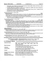 risk management resume related - Risk Management Resume