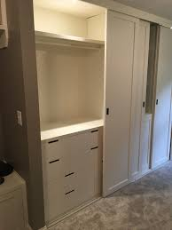 ikea nordli dressers within built in closet sliding ceiling mounted dresser