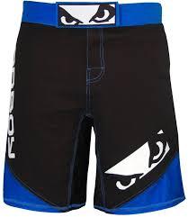 Bad Boy Bad Boy Legacy Ii Mma Fight Shorts Black Blue Mma Shop