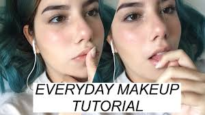 how to not look dead everyday makeup tutorial