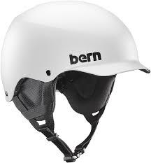 Bern Team Baker Eps Winter Snowboard Ski Helmet Matte White M