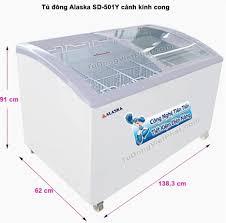 Tủ đông Alaska SD-501Y mặt kính cong 500 lít - Giá rẻ nhất T11/2020