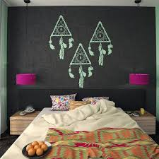 Dream Catchers Furniture Extraordinary Decorative Dream Catcher Wall Stencil Home Decor Stencil Dream