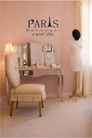 Paris Inspired Bedroom Amazoncom Paris Is Always A Good Idea Vinyl Wall Decal Home