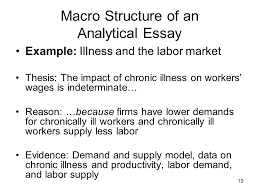 the analytical essay ppt video online  macro structure of an analytical essay