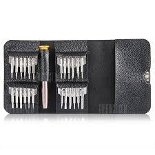 <b>Gocomma Screwdriver Wallet Kit</b> Silver 1pc Screwdriver ...