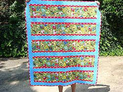 36 best Quilts for large scale prints images on Pinterest ... & Quilt pattern suggestions for using busy large-scale border print by Trudy  Rutledge-dsc04537 Adamdwight.com