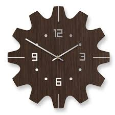 chic wall clock design idea  large wall clock design ideas