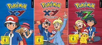 Pokémon Staffel 17 XY+18 XY+19 XYZ DVD Box Set NEU OVP Pokemon 17-19
