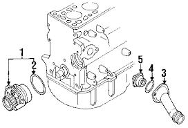 parts com® volkswagen passat water pump oem parts 2004 volkswagen passat gls l4 1 8 liter gas water pump