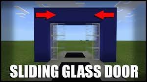 how to make a sliding glass door in