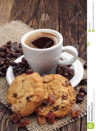 Cookie Coffee Cups Cup Of Coffee And Cookies Royalty Free Stock Photos Image 34556528
