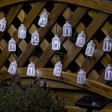outdoor solar string lights uk