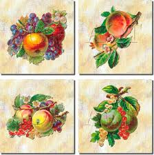 kitchen tiles with fruit design. art for the kitchen fruit ceramic tile backsplash tiles with design u