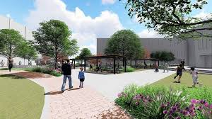 outdoor office space. The Outdoor Office Space Being Designed For Between Naperville Municipal Center And Riverwalk Got