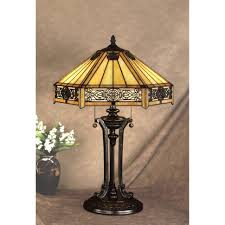 lamp victorian lamps antique tiffany halogen lamp country art deco table purple paper mission style furniture