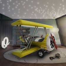 Cool Kids Beds Sky B Plane Junior Bed In Yellow Cool Kids Beds Amazing Kids