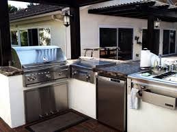 Stainless Steel Outdoor Kitchen Stainless Steel Outdoor Kitchens Pictures Tips Ideas Hgtv