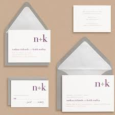 papersource wedding invitations. paper source didot monogram wedding invitations papersource n