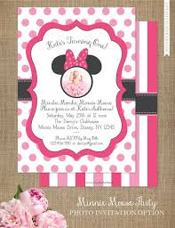 minnie mouse invitation template minnie mouse invitation editable birthday invitation template pink