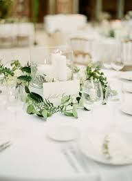wedding round table settings