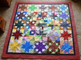 38 best Quilts - Boxy star images on Pinterest | Bonnie hunter ... & Boxy Stars Quilt by Kathie Kline Adamdwight.com