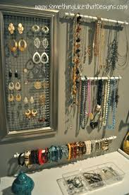 Jewelry Wall Organizer 50 Organizing Ideas For Every Room In Your House Jewelry Wall