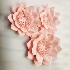 Paper Flower Photo Booth Backdrop Us 59 98 3pcs Giant Paper Flowers For Party Wedding Decor For Photo Booth Backdrop For Wedding Background In Artificial Dried Flowers From Home