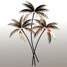 outdoor palm tree metal wall art floors doors