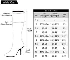 Calf Size Boots Chart Freelance Lady The Best Wide Calf And Extra Wide Calf Boots