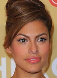 makeup for brown eyes eva mendes