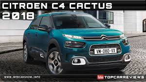 2018 CITROEN C4 CACTUS Review Rendered Price Specs Release Date ...