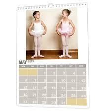 a3 custom spiral monthly wall calendar planner