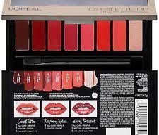 2 l oreal paris cosmetics colour riche red 04 la palette lip new